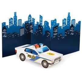 Centro de Mesa Policia