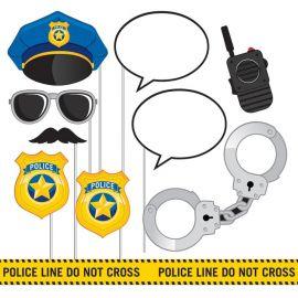 10 Accesorios Policia para Photocall
