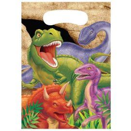 8 Bolsas Dinosaurios