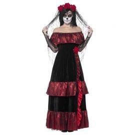 Disfraz de Novia del Día de Muertos para Adultos