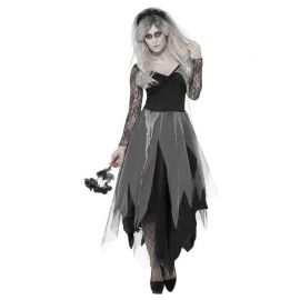 Disfraz de Novia de Cementerio para Adulto