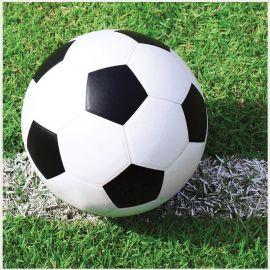 18 Servilletas de Fútbol 25 cm