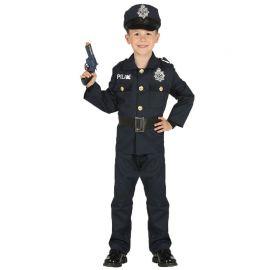 Disfraz de Policia para Niño Oscuro