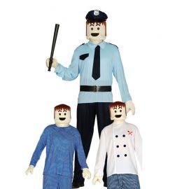 Disfraz de Muñeco con Manos para Hombre
