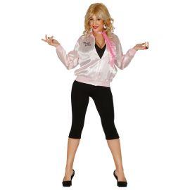 Disfraz de los 50 para Mujer Chaqueta Pink Girls