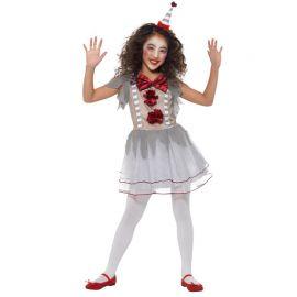 Disfraz de Mimo para Niña Aterradora