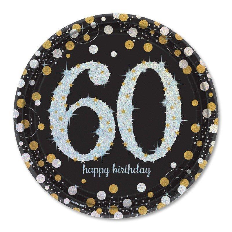 Platos 60 a os elegant 23 cm for Decoracion fiesta anos 60