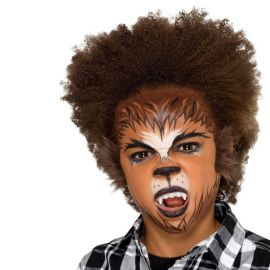 Kit Cosmético para Halloween de Hombre Lobo