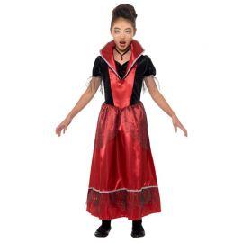 Disfraz de Vampiresa para Niña Elegante