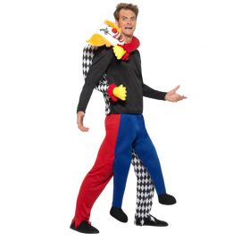 Disfraz de Payaso Secuestrador para Hombre