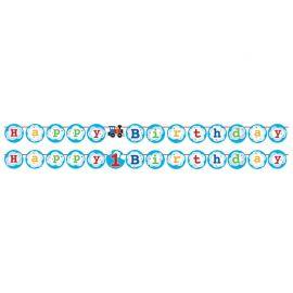 Guirnalda Trenecito con Stickers 210 cm