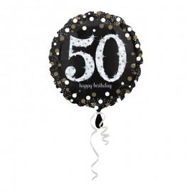 Globo Foil 50 años Elegant 43 cm