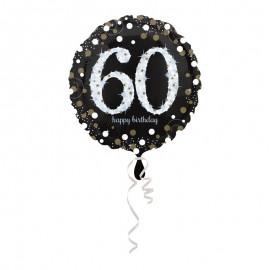 Globo Foil 60 años Elegant 43 cm