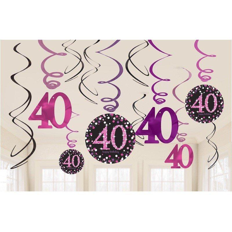 Fiesta de cumplea os 40 a os mujer decoracion tematica for Decoracion 40
