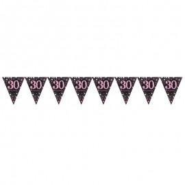 Banderín 30 Elegant Pink