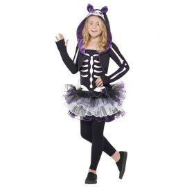 Disfraz de Gata Esqueleto para Niña