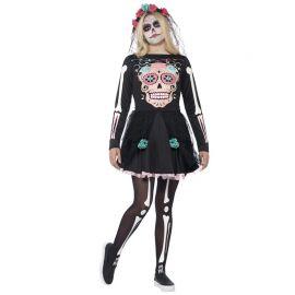 Disfraz de Sweetle Calavera de los Muertos para Mujer