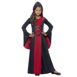 Disfraz de Vampiresa con Capucha para Niña