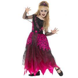 Disfraz de Reina de Graduación Zombie para Niña