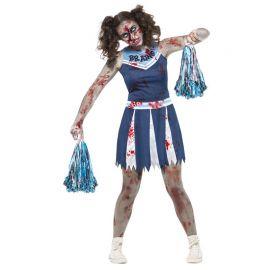 Disfraz de Animadora de Equipo Zombie para Mujer