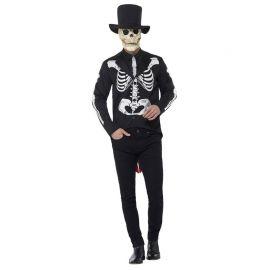 Disfraz de Novio Esqueleto del Día de los Muertos para Hombre