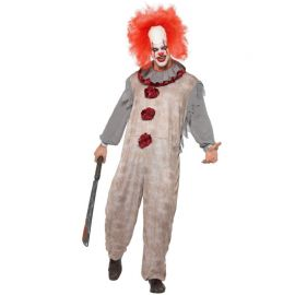 Disfraz de Payaso Zombie Asesino para Hombre