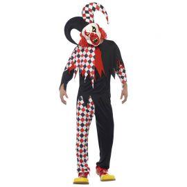 Disfraz de Bufón Psicópata para Hombre