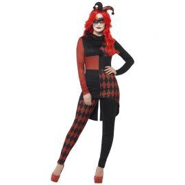 Disfraz de Bufona Roja para Mujer