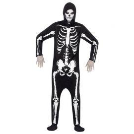 Disfraz de Esqueleto Entero para Hombre