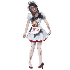 Disfraz de Chica Zombie de Kansas para Mujer