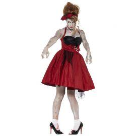 Disfraz de Zombie Años 50 para Mujer