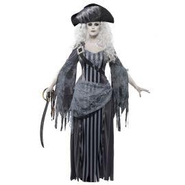 Disfraz de Princesa Pirata Fantasma para Mujer