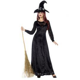 Disfraz de Bruja Deluxe para Mujer