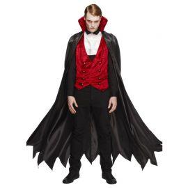 Disfraz de Vampiro con Chaleco para Hombre