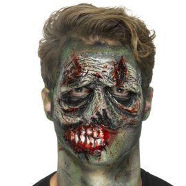Prótesis de Látex Verde para Zombie