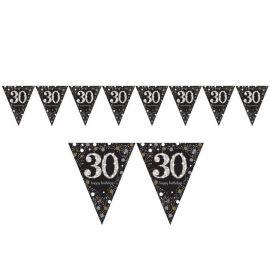 Banderín 30 años Elegant