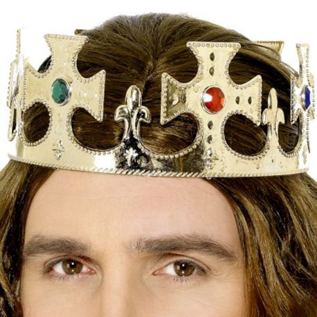 Corona de Rey con Joyas