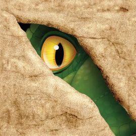 16 Servilletas Dinosaurios 25 cm