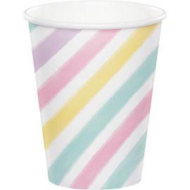 8 Vasos Unicornio Sparkle 266 ml