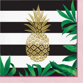 16 Servilletas Pineapple Wedding 33 cm