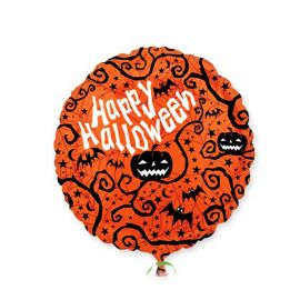 Globo Calabazas Happy Halloween