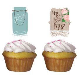 Kit Cupcakes Rustic Wedding