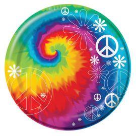 8 Platos Hippie 18 cm