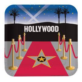 8 Platos Hollywood 23 cm