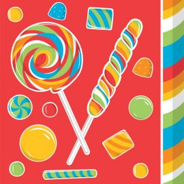 16 Servilletas Sugar Buzz