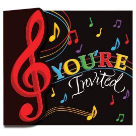 8 Invitaciones Música