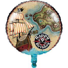 Globo Pirate's Map 45 cm