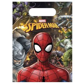 6 Bolsas Spiderman Home Coming