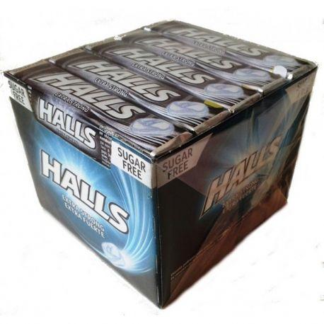 Caja Halls Extra Fuerte Sin Azúcar 20 Uds