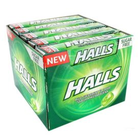 Caixa Halls de Menta Sem Azúcar 20 Uds
